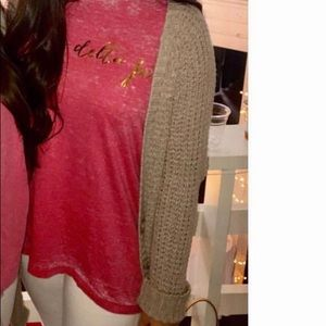 American Eagle long tan cardigan